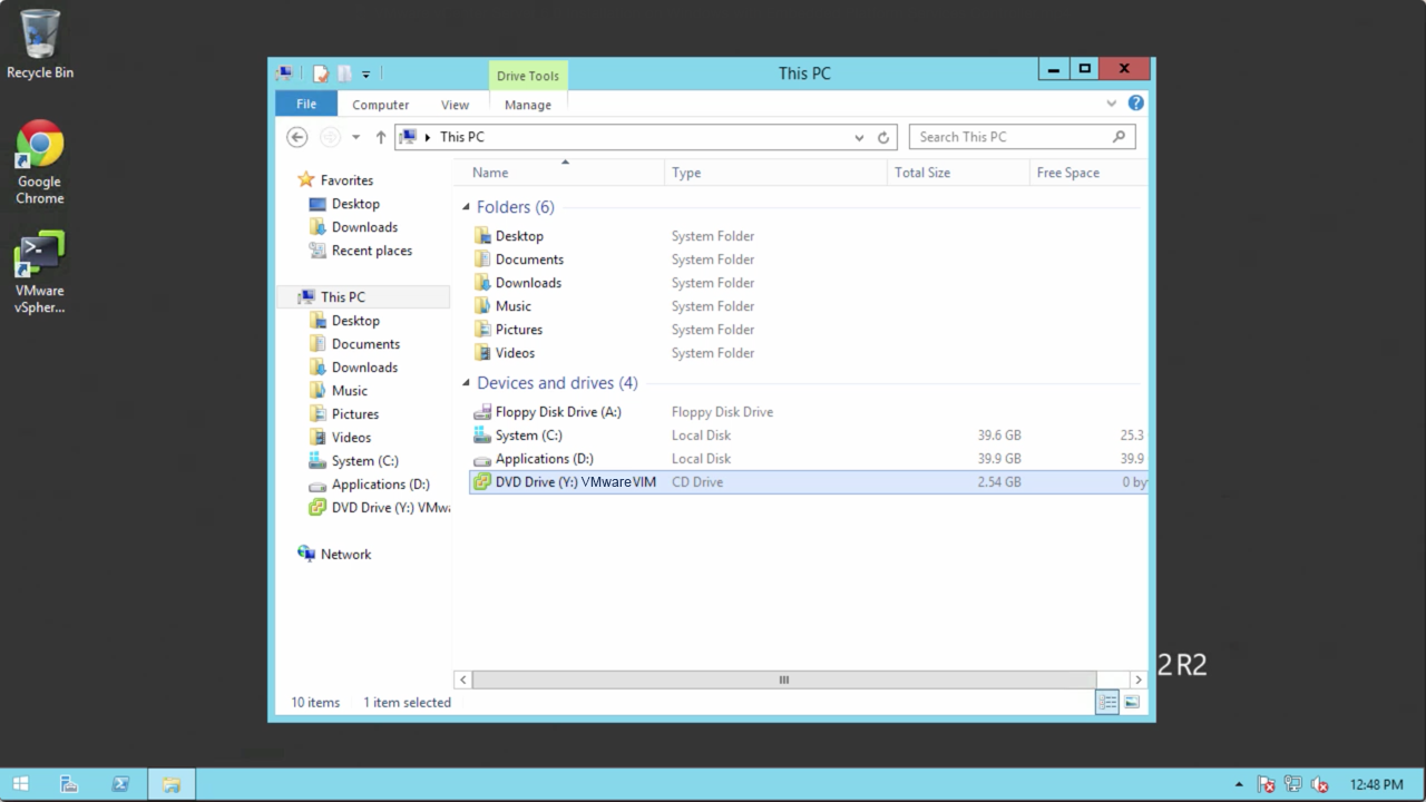 vCenter Server 6.0 Install - Windows with Embedded PSC